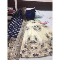 Benarasi brocade silk Lehenga  031-34