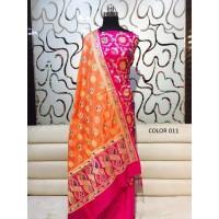 Pure Benarasi Katan Silk un stitched suit 011-020