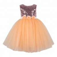 Girls Net Party Dress  -MY30