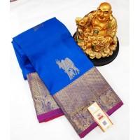 Pure kanchipuram 100 % Silk saree -  K135