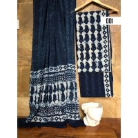 Cotton salwar set unstitched material  - VO136B001