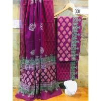 Cotton salwar set unstitched material - VO136C001