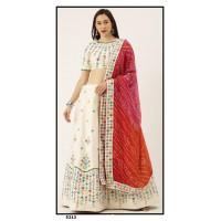 Satin Silk  Lehenga choli embroidered  set - PL5313 - Party wear Lehengas