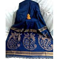 Sequence work saree - Blue Saree -Partywear saree -Exclusive sarees