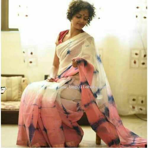 Chanderi Silk Saree -17WA0131