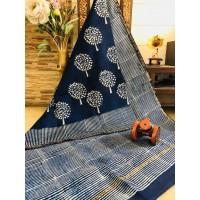 Chanderi Silk Saree -41WA0102
