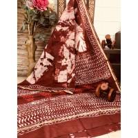 Chanderi Silk Saree -41WA0105