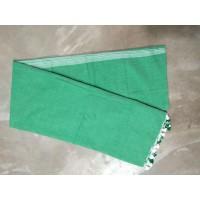 Green  Khadi Cotton Saree