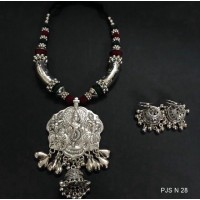 Traditional  German silver Necklace