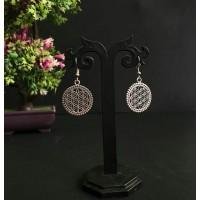 Oxidised ear rings