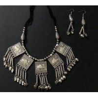 Exclusive German silver necklace