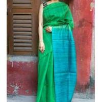 Silk Saree  in Tusser -64WA0191