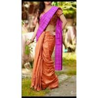Tusser silk saree - 64WA0192