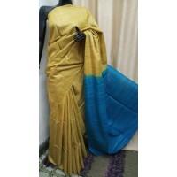 Tusser Silk Saree -64WA0196