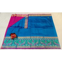 Uppada Pochampalli silk saree -0077