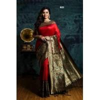 Ghicha Tussar Silk Saree