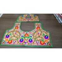 Un stiched blouse material  Beautiful Kutch hand work
