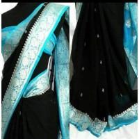 Benarasi Chiffon Saree -99WA0416