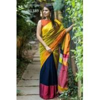 Mahaparr Silk cotton saree -138