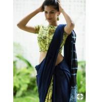 Cotton mul mul saree  -0013