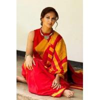 Cotton mul mul saree  -0019