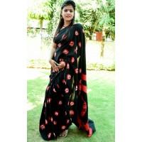 Cotton mul mul saree  -0023