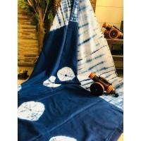 Cotton mul mul saree  -0025
